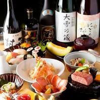 栄で新鮮な魚を使用した寿司が食べられる!