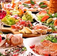 見た目も鮮やかなこだわりの逸品でお食事を愉しむ◎