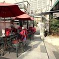 24時間営業!オープンテラスカフェ 【飲み放題/歓送迎会/ランチ/ビール】