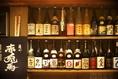 焼酎や日本酒などアルコールも種類豊富。