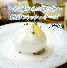 ミルクス Milks FRESH CHEESE&WINEの写真