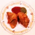 料理メニュー写真サモサ (2個)