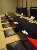20名様迄のお部屋が2部屋あり。ふすまを開ければ最大40名様までの御宴会も承っております。