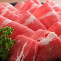 料理メニュー写真上牛しゃぶしゃぶコース/上牛すき焼きコース【100分食べ放題】