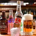 定番のビールは勿論、大人気の生レモンサワーやホッピー、当店のオリジナルカクテルなど多彩な種類のドリンクメニューを取り揃えております!料理と合わせてお好みのドリンクをお楽しみください。