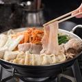 料理メニュー写真【神田川俊郎監修】 うま辛豚キムチ鍋
