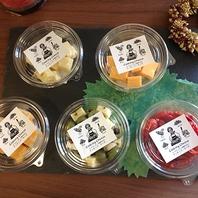 チーズ加工品も種類豊富に!