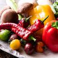 料理メニュー写真季節の焼き野菜