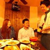 お料理に合わせてご一緒にワインはいかがですか?濃厚な赤、スッキリ白など、ワインに詳しいスタッフが一番美味しいものをチョイスいたします!