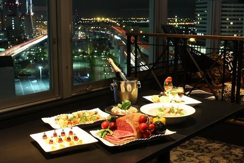 【神戸ハーバー×夜景×記念日】 夜景を眺めながら特別な日のディナーはいかが?