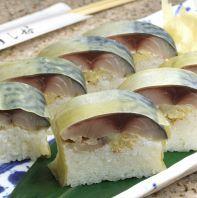 人気の逸品 特製さば寿司
