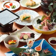 旬の食材にこだわった【本格日本料理】
