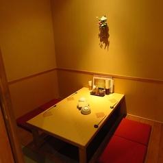4名様個室。少人数飲み会にどうぞ