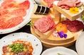 コース料理も多数ご用意がございますので、ご友人様との食事、ご家族様、宴会、女子会、接待などさまざまなシーンに対応可能です。