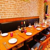 団体様にも対応できるテーブル席もご用意しております。どんな人数でも対応致します♪