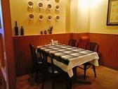 のびのびテーブル席ご家族やお友達とお食事にどうぞ!