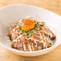 ローストビーフ丼 ~シャリアピンソースで~