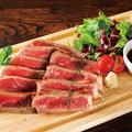 料理メニュー写真牛サーロインのタリアータ