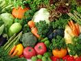 新鮮こだわり野菜を中心にお食事をご提供致します。※写真は系列店