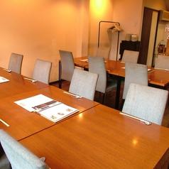 16名様用の宴会テーブル席