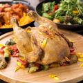 料理メニュー写真ひなの丸鶏のロースト