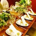 テーブルセッティングや装花の手配もお任せください。