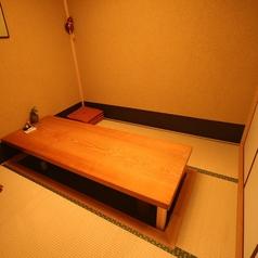 最大6名様までの掘りごたつ式個室×2部屋★接待やお食事会にどうぞ