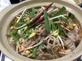 料理メニュー写真しびれる麻婆豆腐鍋