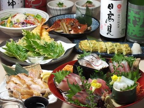 【神津島直送のお魚】と【こだわり仕入れの日本酒】が自慢の海鮮居酒屋です!!