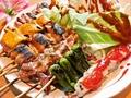 料理メニュー写真おまかせ串盛り(7本)