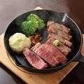 料理メニュー写真A5山形牛赤身の鉄板焼き