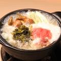 料理メニュー写真高菜・明太とろろ鍋 (1人前)
