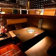 ◆こだわりの個室空間