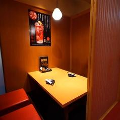 2名様~個室へご案内致します!カップルで、会社帰りに、友人と、少人数でも個室でゆっくりとお過ごしいただけます。