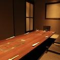 7~8名様◎掘りごたつ式個室。会社の接待・会食等、各種ご宴会に