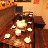 カレー鍋!!!貸し切りのテーブルの配置はコチラ☆