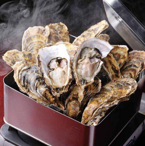 【赤字覚悟】牡蠣のカンカン焼き食べ放題2時間2980円
