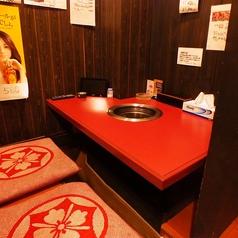 【テレビ付きテーブル席】焼肉デートに最適!