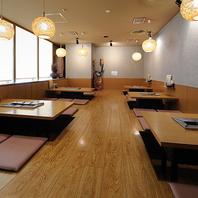 天王寺でおすすめ◎最大26名様ご利用可能な掘りごたつ席