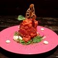 料理メニュー写真まるごと冷やしトマトサラダ