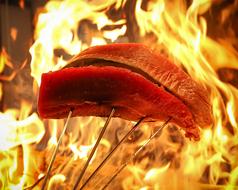 鶏と魚のわらやき 頂 いただき 西中島南方店の写真