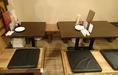 様々な人数・シーンで使えるテーブル席!