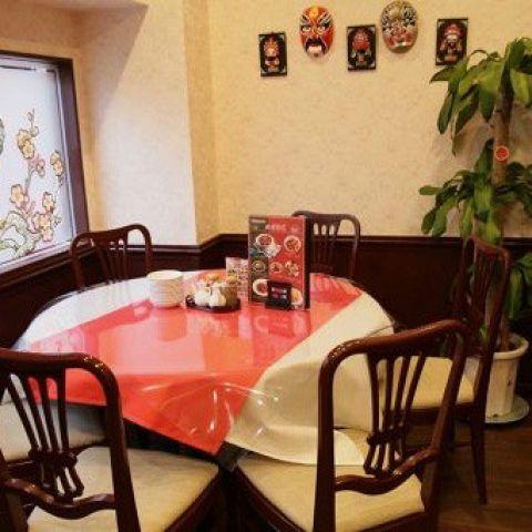 1階4から6名様テーブル