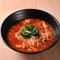 料理メニュー写真トマト辛麺《中華麺orこんにゃく麺》