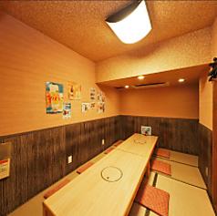 約8~12名様までの小グループのお客様に合わせた個室もご用意できます。