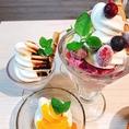 アイス・パフェ・ジェラートなど、女子会には欠かせないデザートも豊富にご用意しております。仙台で女子会の際には、是非「かもぎゅうとん」をご利用ください!