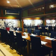 2階の特別個室は4名様~ご利用可能!全席貸切で最大36名様までご利用いただけます。