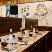 博多 もつ鍋 おおやま カウンター KITTE 博多店の雰囲気2