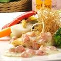料理メニュー写真本日の天然旬鮮魚のメイン料理