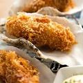 料理メニュー写真三陸産大牡蠣フライ 二個